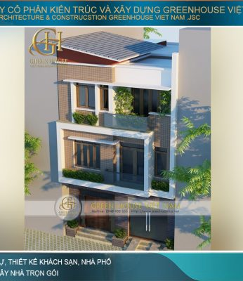 thiết kế nhà phố 3 tầng hiện đại đẹp
