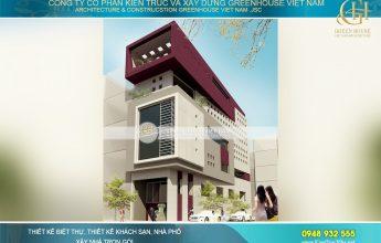 thiết kế nhà phố hiện đại 5 tầng tại Hải Phòng