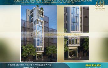 thiết kế nhà phố kết hợp kinh doanh 9 tầng Hà Nội