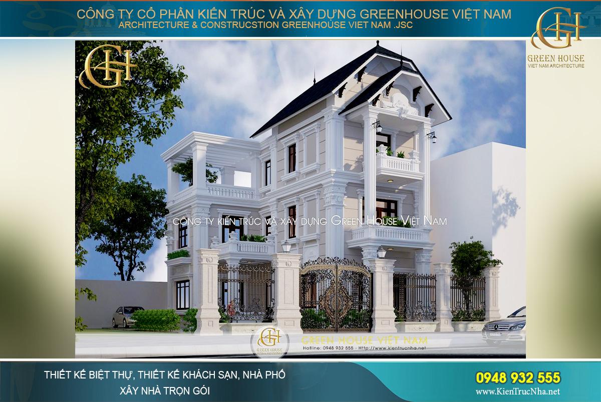 thiết kế biệt thự đẹp tại Hà Nội