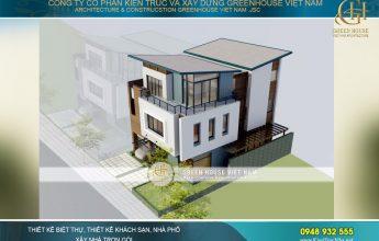 thiết kế biệt thự hiện đại hà nội