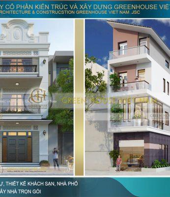 thiết kế nhà phố tại Hà Nội