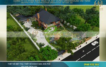 thiết kế biệt thự sân vườn tại Sài Gòn