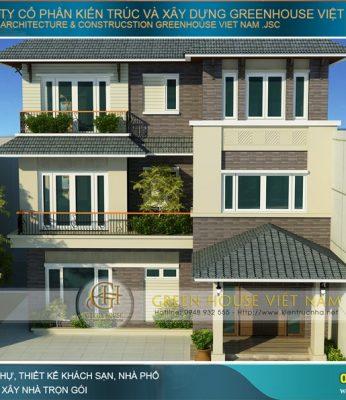 thiết kế biệt thự hiện đại phong cách Á đông đẹp