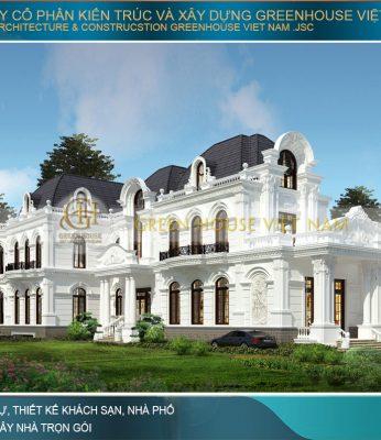 thiết kế dinh thự cổ điển tại Hà Nội