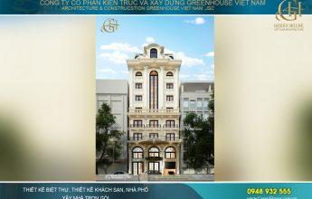 thiết kế khách sạn tân cổ điển tại Đà Nẵng
