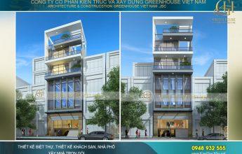thiết kế tòa nhà văn phòng kinh doanh tại Hà Nội