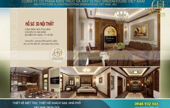 thiết kế nội thất tân cổ điển cho nhà phố tại Hà Nội