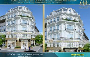 thiết kế khách sạn tân cổ điển 4 sao tại Đà Nẵng