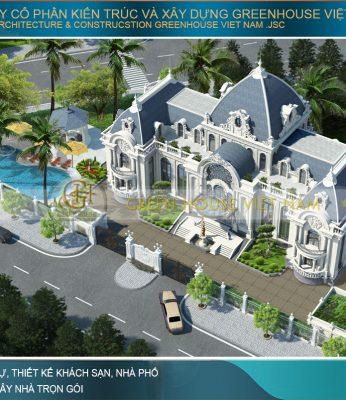thiết kế biệt thự tân cổ điển Rạng Đông tại Phan Thiết