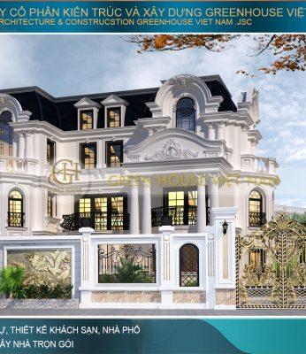 thiết kế biệt thự tân cổ điển tại Đà nẵng