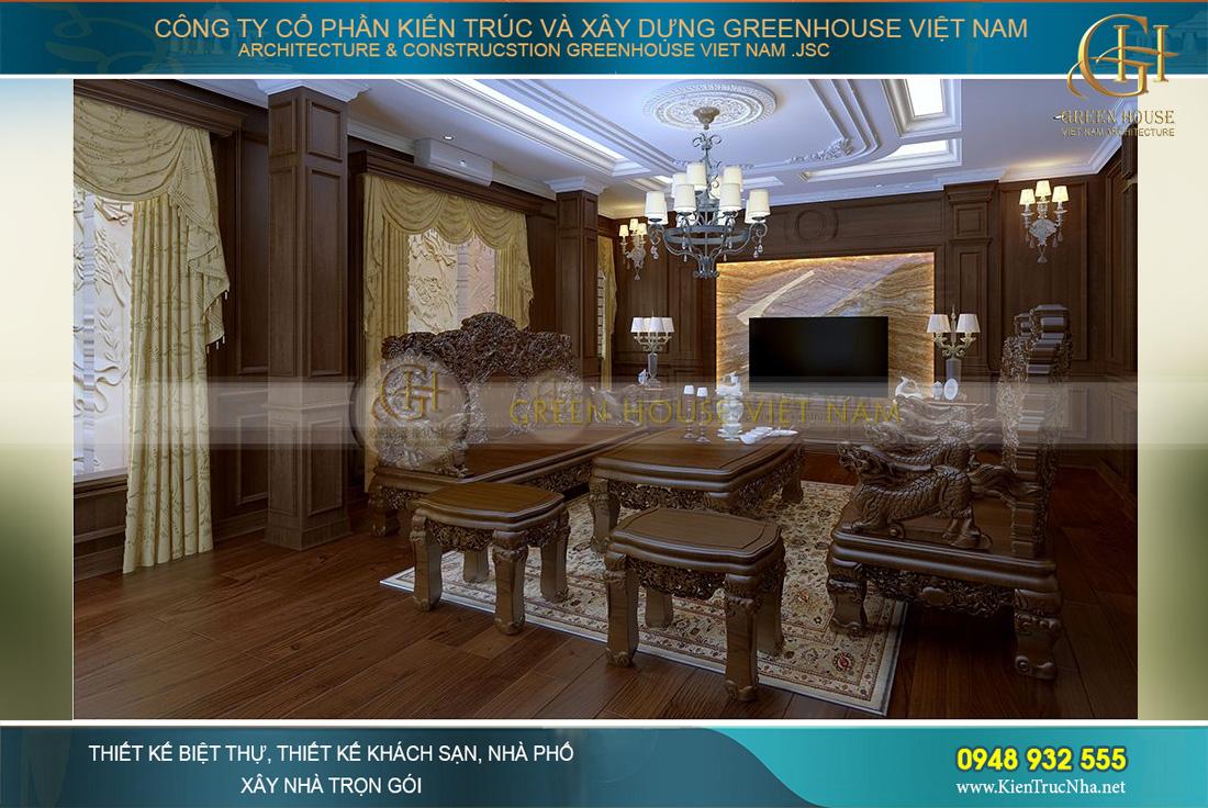 thiết kế nội thất biệt thự tân cổ điển hà nộithiết kế nội thất biệt thự tân cổ điển hà nội