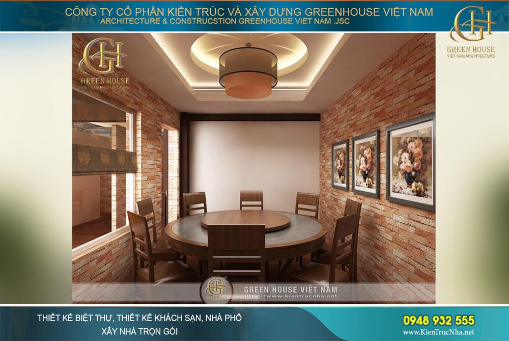 thiết kế nội thất nhà hàng hải sản đẹp ấn tượng, thu hút tại Bắc Giang
