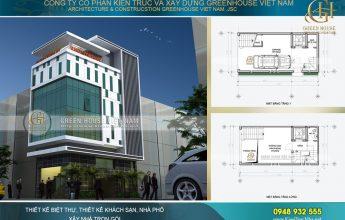 thiết kế tòa nhà văn phòng tại sài gòn