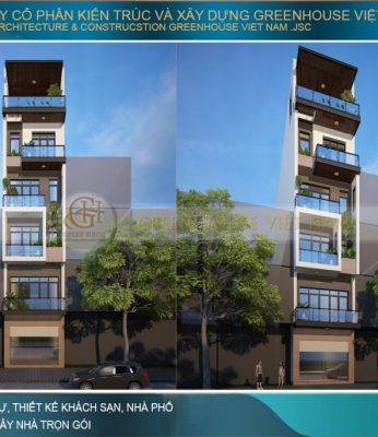 nhà phố kết hợp kinh doanh 6 tầng