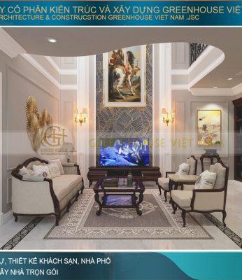 thiết kế nội thất biệt thự vinhomes Hải Phòng