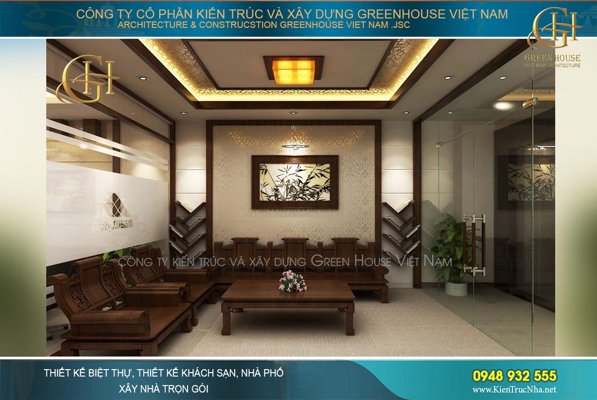thiết kế văn phòng công ty tại Hà Nội