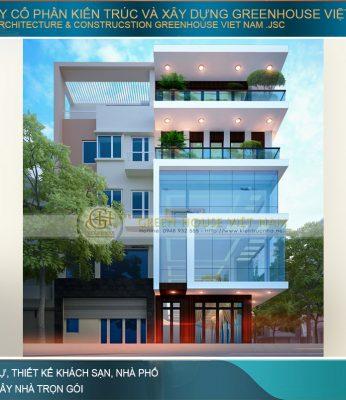 thiết kế tòa nhà văn phòng Quảng Ninh