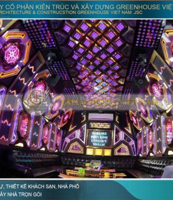 thiết kế nội thất phòng karaoke đẹp