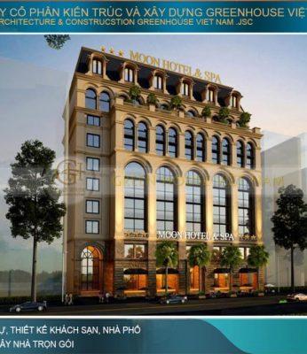 thiết kế khách sạn tân cổ điển 3 sao