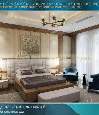 mẫu giường ngủ gỗ tân cổ điển đẹp