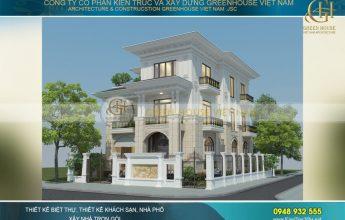 mẫu biệt thự đẹp tại đô thị KOSY Bắc Giang