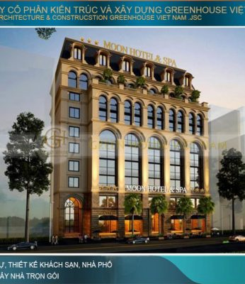 thiết kế khách sạn tân cổ điển tại bình thuận