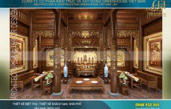 thiết kế nhà thờ họ đẹp tại Hải Phòng