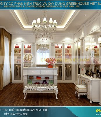 thiết kế phòng thay đồ tại nhà