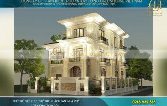 thiết kế biệt thự tân cổ điển giá 2-3 tỷ đẹp