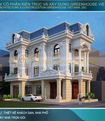 mẫu thiết kế biệt thự đơn lập đẹp