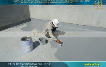 kinh nghiệm chống thấm tường