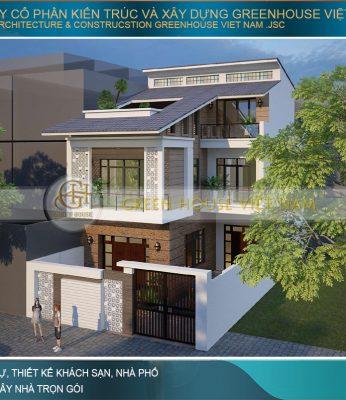 thiết kế nhà phố 250m2