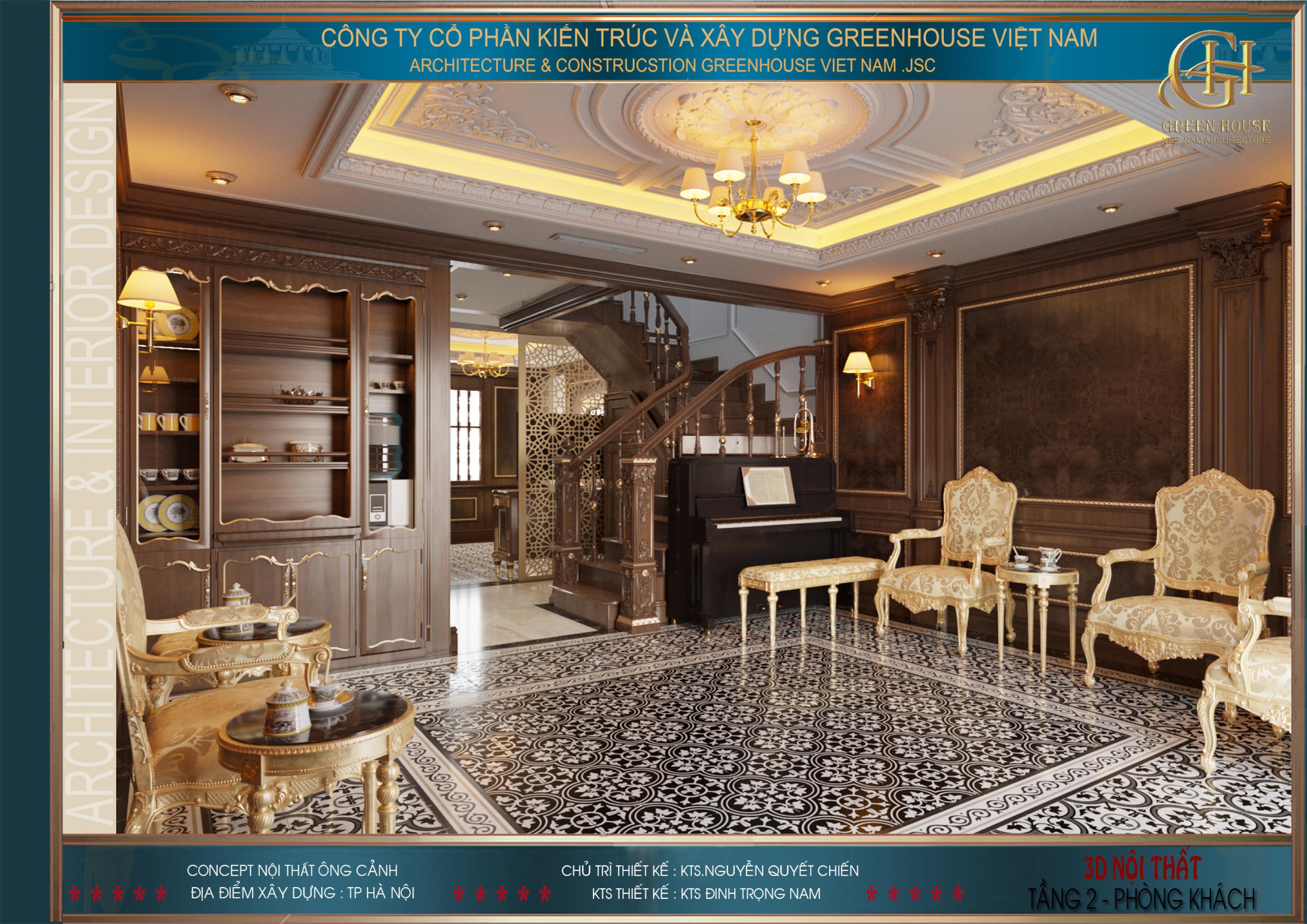 Những gam màu trên đồ nội thất được lựa chọn và phối hợp hài hòa, đầy chất nghệ thuật