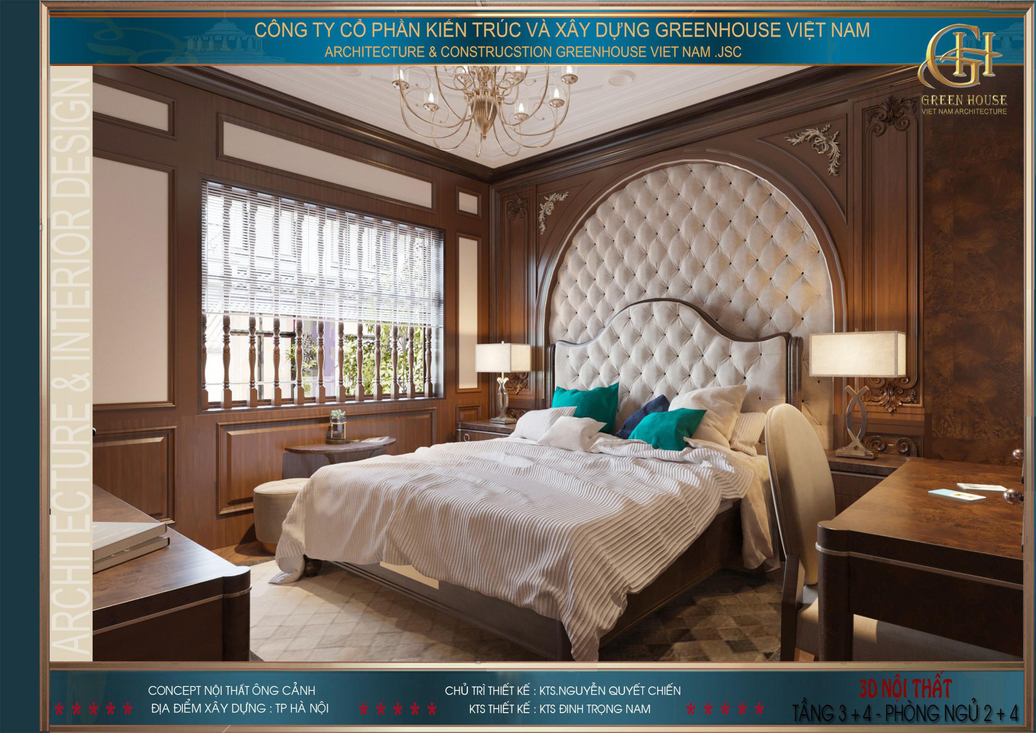Cửa sổ lớn giúp căn phòng lấy được nhiều ánh sáng tự nhiên