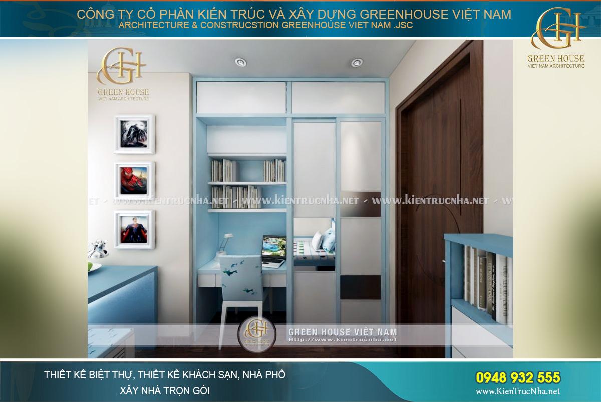 Thiết kế nội thất thông minh tiết kiệm không gian nhưng vẫn đầy đủ tiện nghi