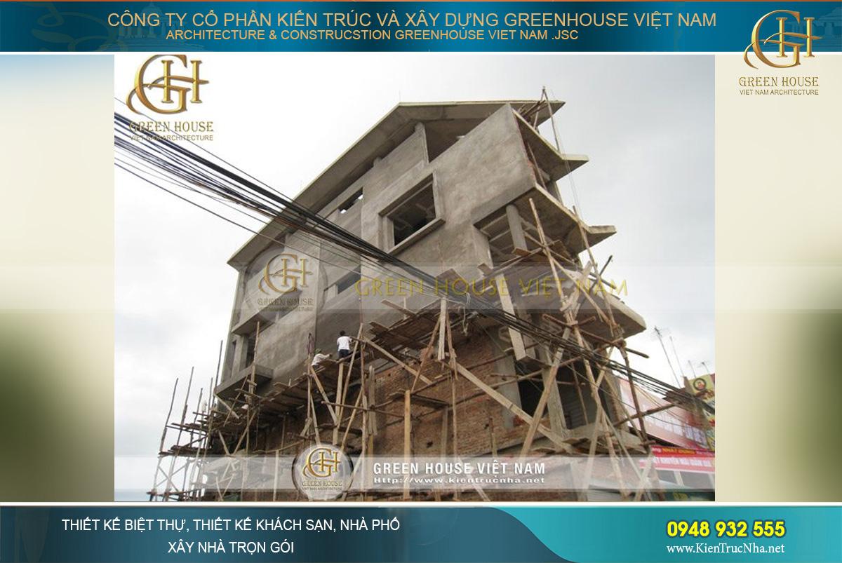 Thi công xây dựng nhà phố đẹp và hiện đại năm 2020 tại Greenhouse Việt Nam