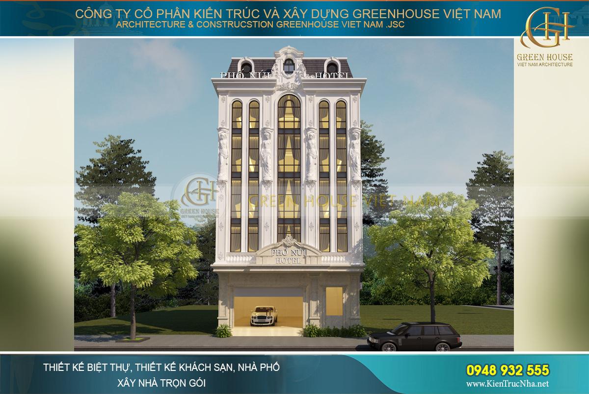 Thiết kế khách sạn tân cổ điển - vẻ đẹp kiêu kì, quyến rũ