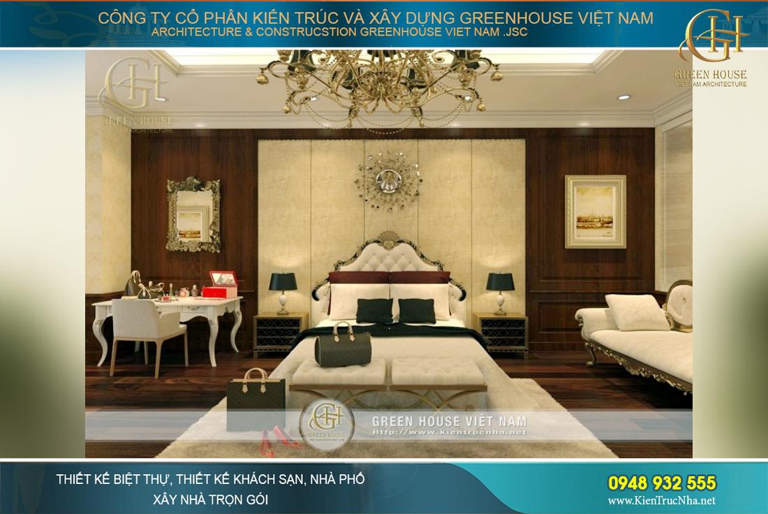 Thiết kế nội thất phòng ngủ master đẹp đẳng cấp
