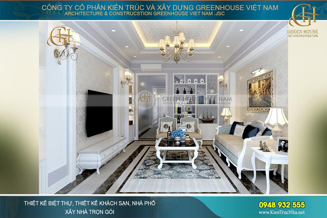Những món đồ nội thất cao cấp được thiết kế, bố trí hợp lý và đầy tính nghệ thuật