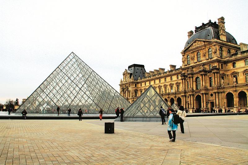 Cánh Richelieu - một trong ba cánh của Louvre