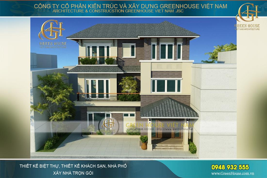 Những mẫu thiết kế biệt thự hiện đại được lựa chọn nhiều nhất tại GreenHouse Việt Nam
