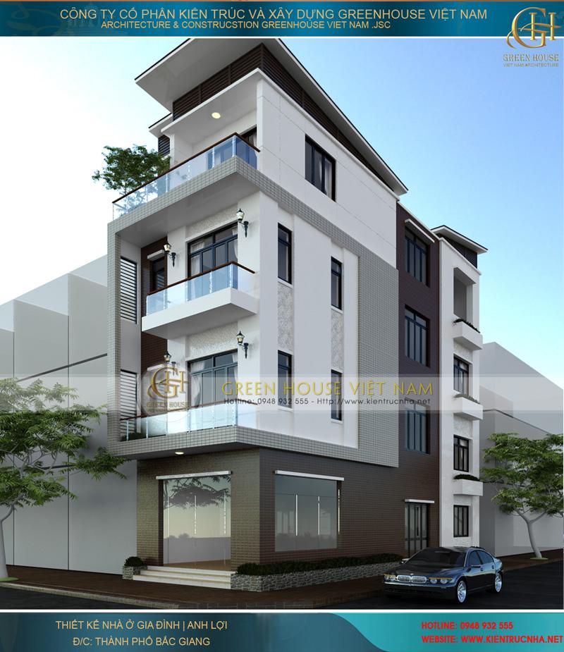 Nhà Phố 4 tầng diện tích trên 90m2 hiện đại, tiện nghi tại Hà Nội