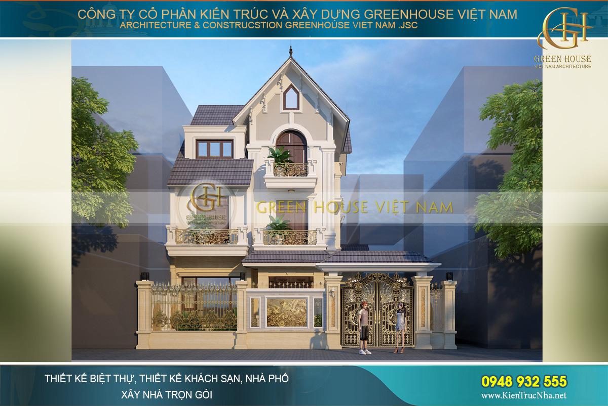 Tổng hợp các mẫu biệt thự 3 tầng đẹp và sang trọng được chủ đầu tư đánh giá cao