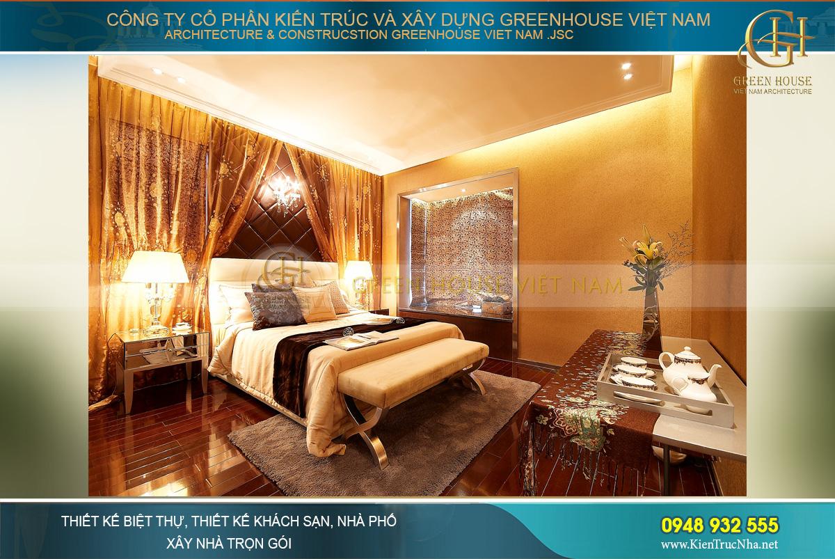 Lựa chọn màu sắc cho nội thất phòng ngủ chung cư vô cùng quan trọng