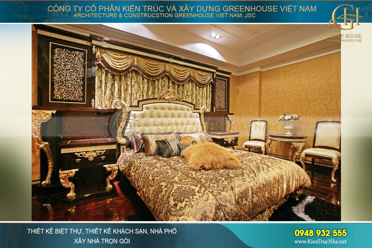 Mẫu nội thất phòng ngủ chung cư cao cấp