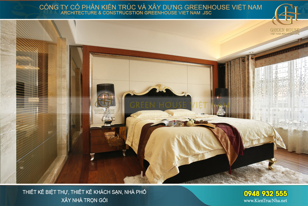 Phong thủy trong thiết kế nội thất phòng ngủ chung cư cao cấp