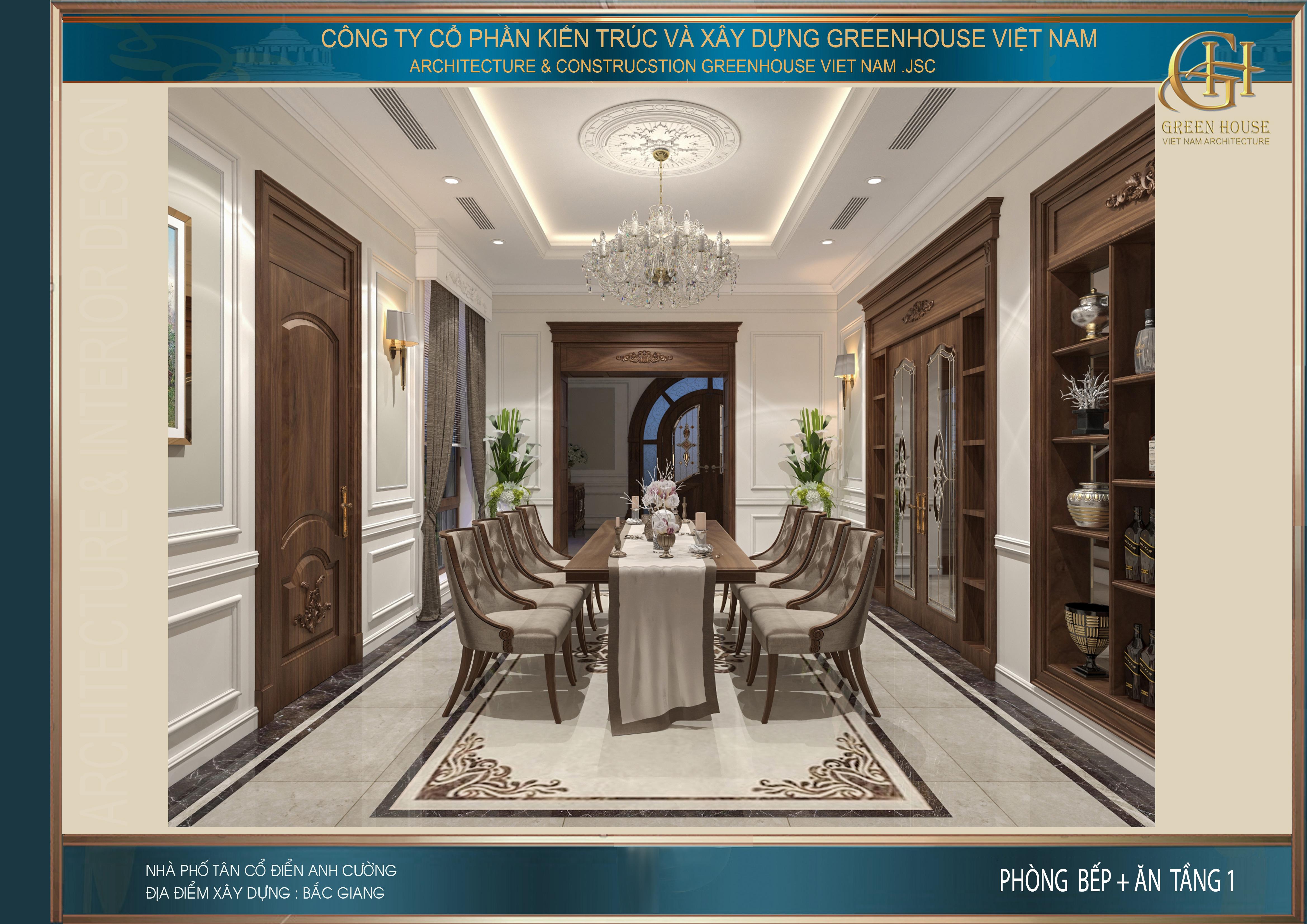 Ngoài ra còn là sự lựa chọn phụ kiện decor đẹp, tinh tế và cao cấp cho phòng ăn thêm sang trọng