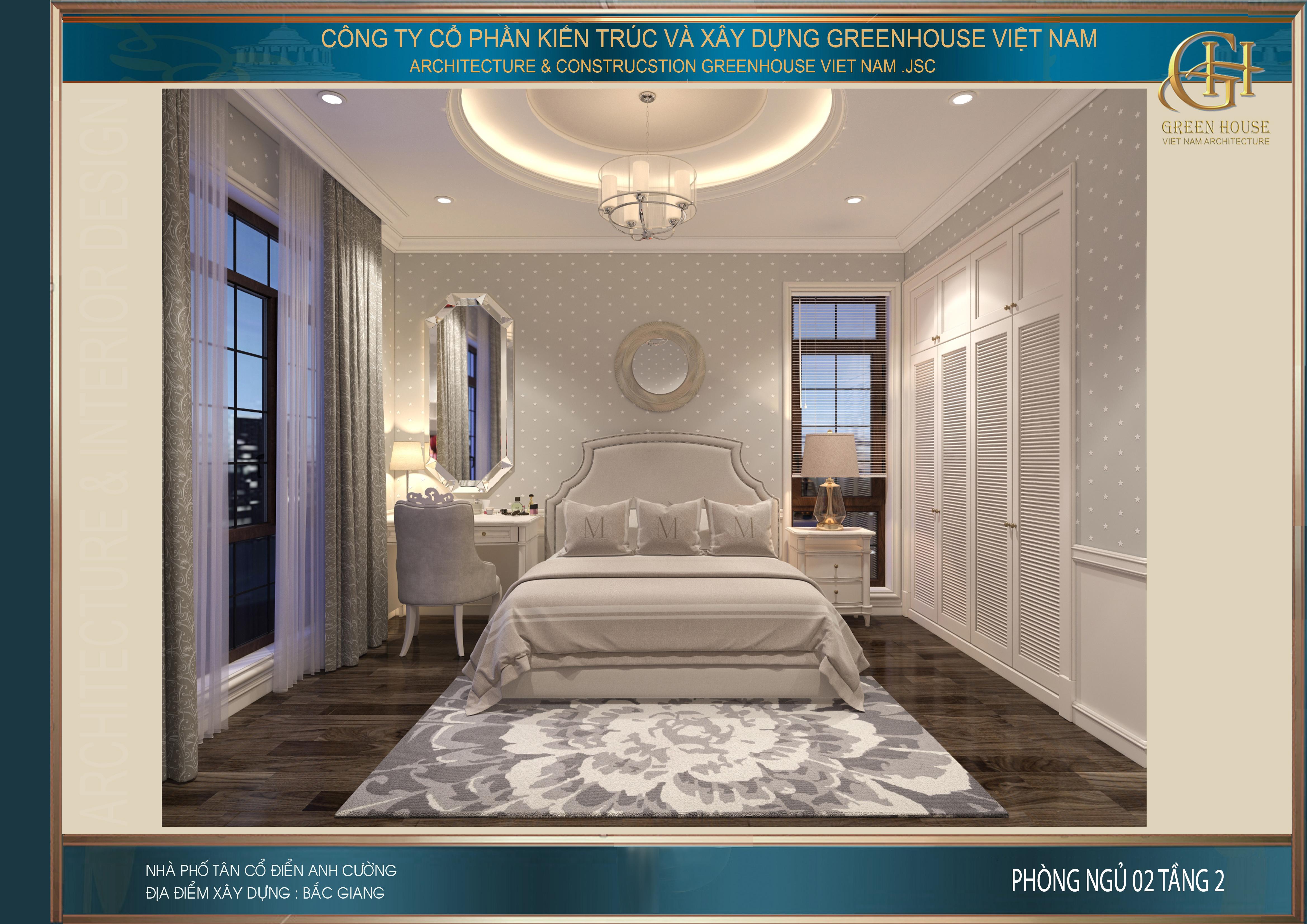 Phòng ngủ số 2 mang đến màu sắc tươi mới trẻ trung