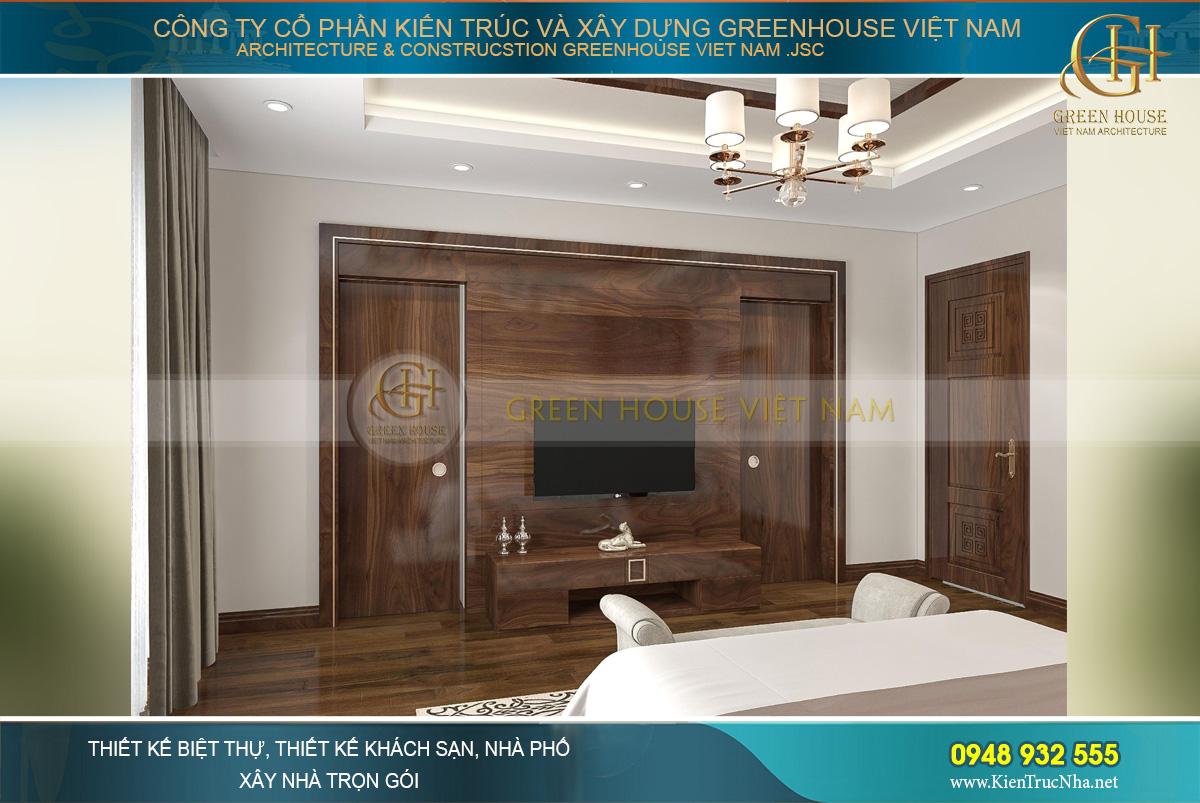 Kệ TV với thiết kế gỗ hoàn toàn đơn giản mà sang trọng